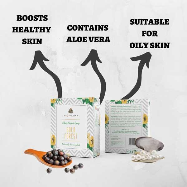Arovatika Gold Forest Soap - Vegan
