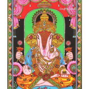 Ganesha Tapestry Wall Hanging