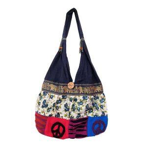 Hippie Boho Tote Bag