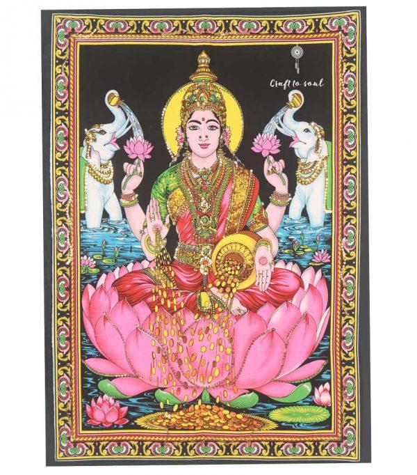 Goddess Lakshmi Tapestry