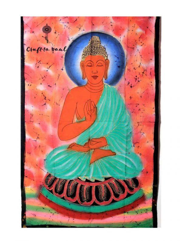 Meditative Buddha Tapestry 1