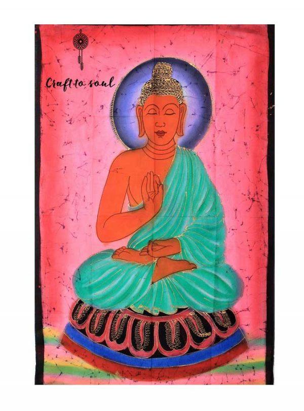 Meditative Buddha Tapestry 4