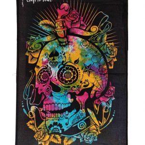 Skull Dagger Tapestry