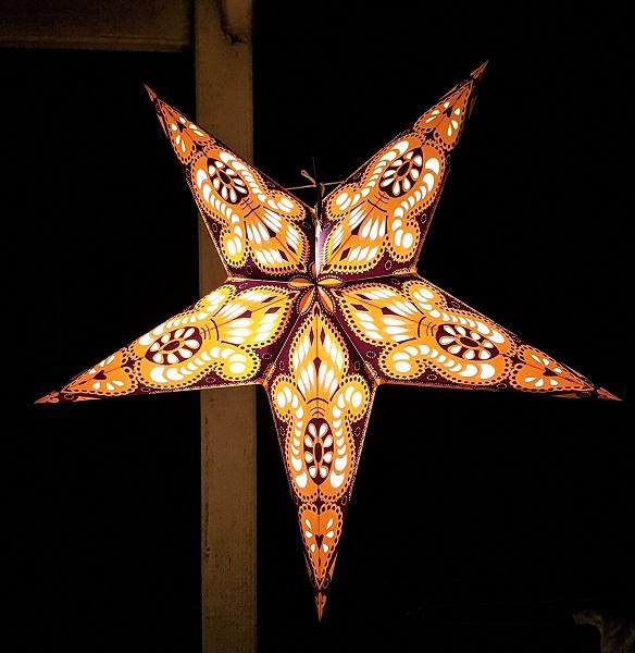 Star Lantern yellow