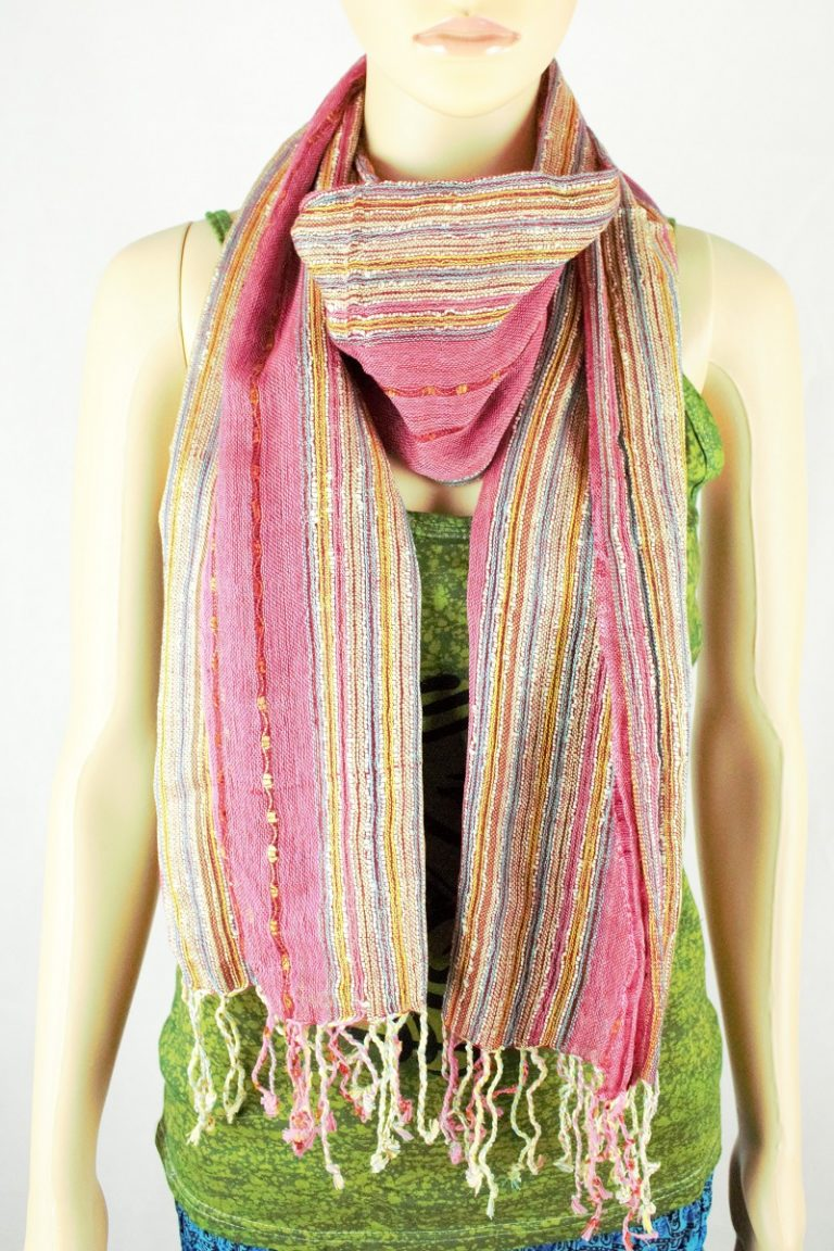 Unisex Multi Coloured Scarf